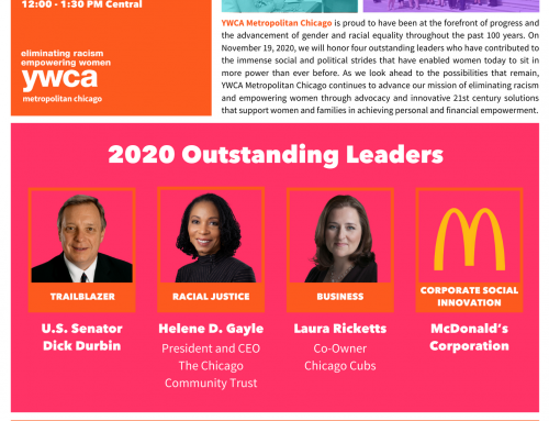 YWCA – Leader Luncheon 2020: Progress, Power & Possibilities