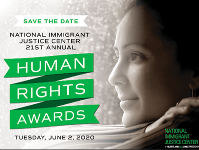 National Immigration Justice Center – 21st Annual Human Rights Awards